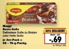 [Kaufland, KW11] Maggi Basis-Soße -67% (Angebot + Coupon)