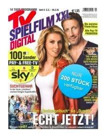 TV Spielfilm XXL Digital Jahresabonnement für 9,90€  (direkt rabattiert ohne Prämie)