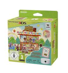 [amazon.co.uk] Animal Crossing: Happy Home Designer + amiibo Card + NFC Reader/Writer [N3DS] für 24,12€ inkl. Versand