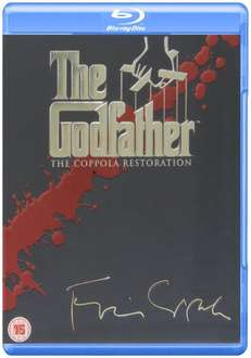 [Amazon.uk] The Godfather Trilogy: Coppola Restoration (4 Blu-ray Disks) für 17.90€