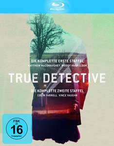 True Detective - Die kompletten Staffeln 1-2 (exklusiv bei Amazon.de) [Blu-ray] [Limited Edition] für 29,97 €