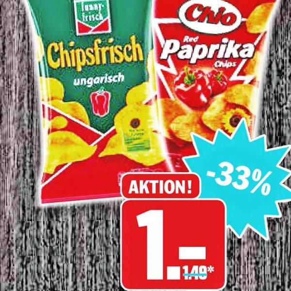 Funny-Frisch Chipsfrisch und leckere Kesselchips für nur 1 Euro bei [Hit]