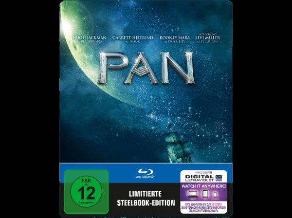 (mediamarkt.de) Pan (Exklusives Blu-ray Steelbook) für 19,90€