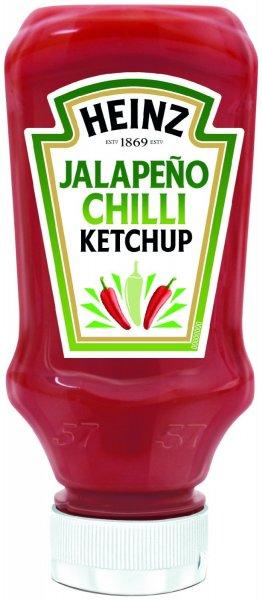 Heinz Tomato Ketchup Jalapeño Chilli (10x400ml) ab 8,89€ + ggf. VSK @Amazon MHD