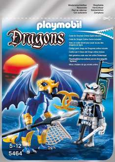 Playmobil™ - Dragons: Ice Dragon mit Kämpfer (5464) für €4.- [@Real.de]