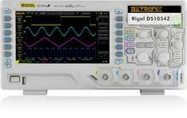 Rigol DS1054z Oszilloskop mit Messerabatt bei Batronix