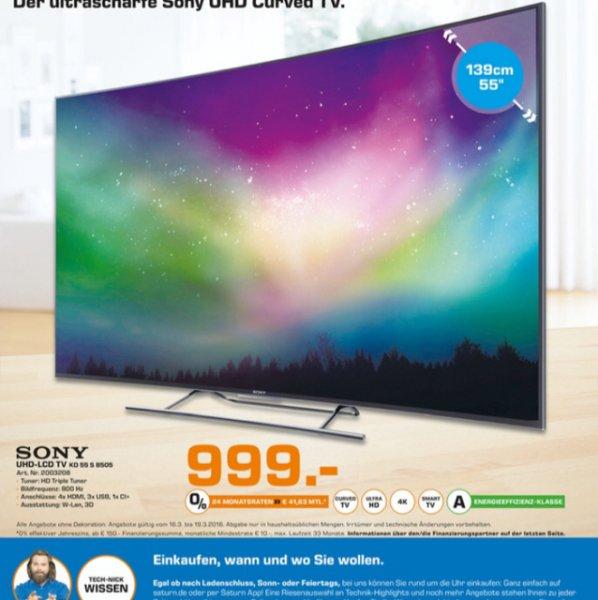 Sony KD 55 S 8505 bei Saturn Sankt Augustin vom 16.03 bis 19.03.