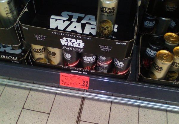 [lokal?] Kaufland Berlin Storkower - Star Wars Space Punch Erfrischungsgetränk nur 0,32€ zzgl. Pfand