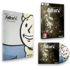 [Amazon.co.uk] Fallout 4 - inkl. Franchise Book und Soundtrack (PC) für 29,77€