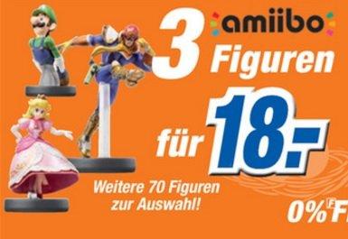 [Expert Bielinsky Bonn, vielleicht auch bundesweit] 3 Amiibos für 18 Euro