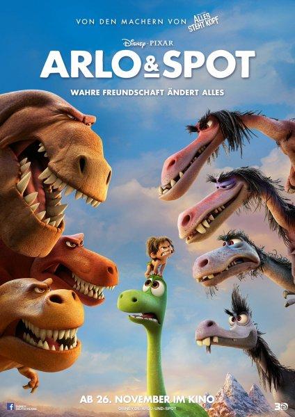 Stuttgart: 28.4.2016  - kostenlos ins Open-Air-Kino - Film : Arlo & Spot