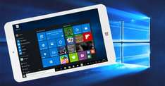 MP Man MPW815 Windows 10 Tablet, 8'' HD für 90,99 €