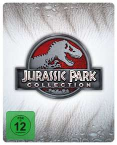 Wieder Da AMAZON Jurassic Park Collection - Steelbook [Blu-ray] [Limited Edition]