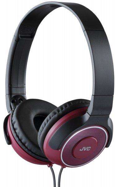 JVC HA-S220-R-E On-Ear Leichtkopfhörer rot ab 13,38 Euro @Amazon