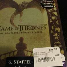 Game of Thrones die 5. Staffel auf Blu-ray