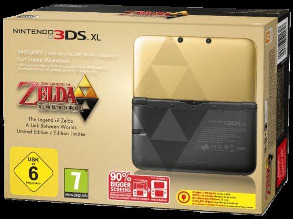 [saturn.de] Nintendo 3DS XL: The Legend of Zelda: A Link Between Worlds Limited Edition ab 219€ [nur für Sammler interessant] *Update* jetzt ab 209€