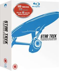 @zavvi.de: Star Trek: Stardate Collection [BluRay] - The Movies 1-10 inkl. Vsk für ca. 31,05 €
