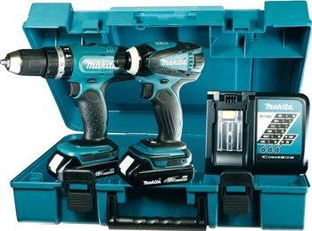 [ebay] 18v Makita Schlagbohrschrauber DHP453 + Schlagschrauber DTD146 + 2 Akkus 1,5AH + Ladegerät für 206,55€