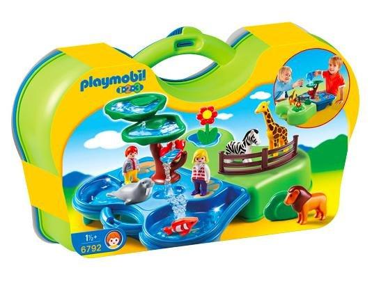 [real.de] 20% Rabatt auf Playmobil, Barbie, Monster High und Fisher-Price - Beispiel: Playmobil 123 - Mein Plansch- und Zooköfferchen (6792) von Playmobil 123 für  15,20€ statt ca. 28€