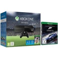 [redcoon] XBOX One 500GB inkl FIFA 16 (Downloadcode) & Forza 6 (Disc)
