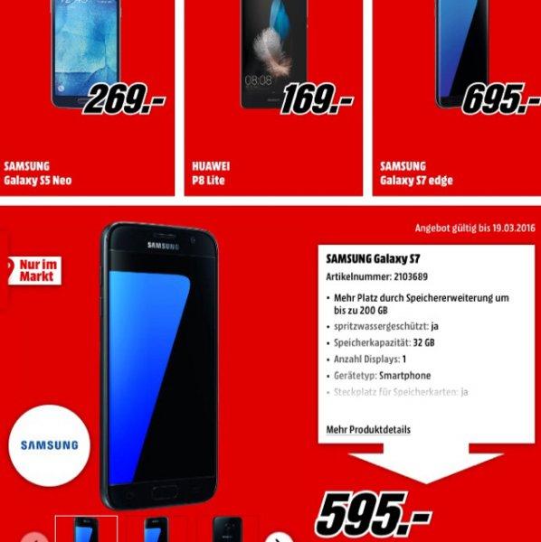 [Lokal MM Braunschweig u. Salzgitter] Samsung Galaxy S7 und S7 Edge