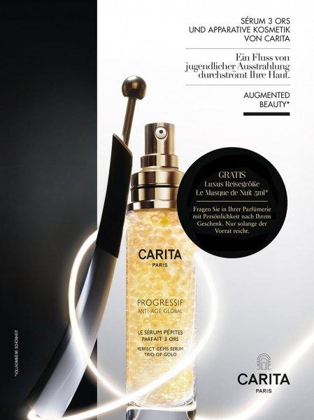 (Pafümerie mit Persönlichkeit)Gratis Luxusreisegröße Carita Le Masque de Nuit 5ml
