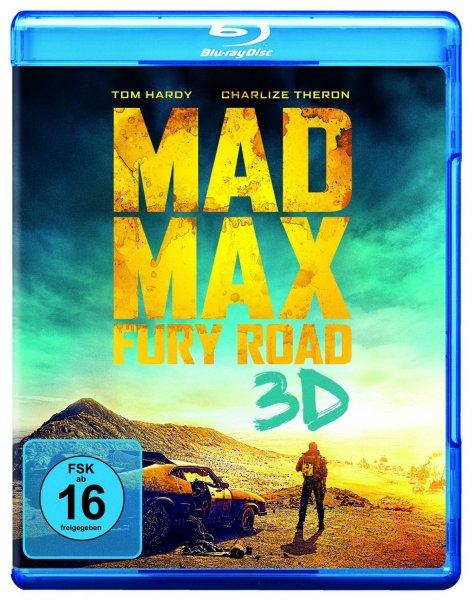 [Saturn Berlin/Potsdam] Mad Max: Fury Road 3D BluRay für 10€ , BD oder DVD für 5€