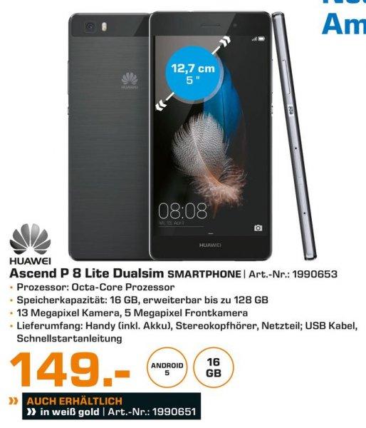 [lokal Erlangen] Huawei P8 lite für 149€ bei Saturn