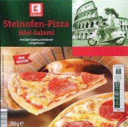 [KAUFLAND] K-Classic Steinofenpizza Edelsalami 350g für nur 0,33€! (Tiefstpreis+Scondoo) NUR HEUTE! [LIMITIERT:3x/Account]