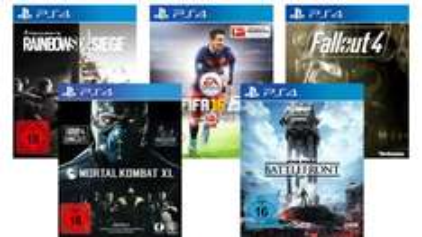 5 Sony Playstation 4 Spiele Auswahl - ein Spiel für je 39,90€