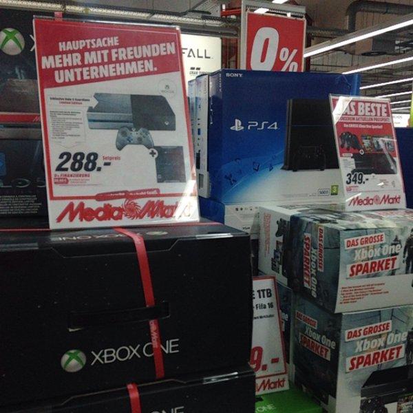 Lokal Berlin: Xbox one Limited Halo Edition 288€ Mediamarkt Das Schloss