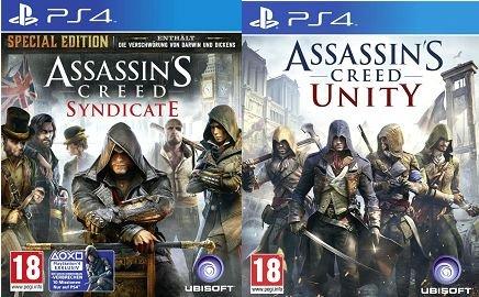 [HD Gameshop] Assassin's Creed Syndicate-Special Edition-PS4/XB1-PEGI-AT***Komplett Deutsch***für je 29.99€ Versandkostenfrei. Zusammen mit AC Unity für 44,99€