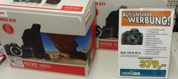 [Euronics Lüdinghausen] Canon EOS 100D Power Kit für 379,-