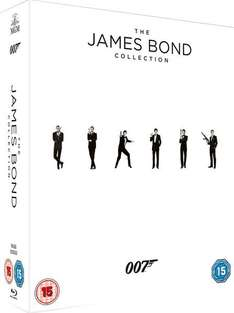 James Bond Collection (23x Blu-ray + Digitale Kopie) für 55€ bei Zavvi