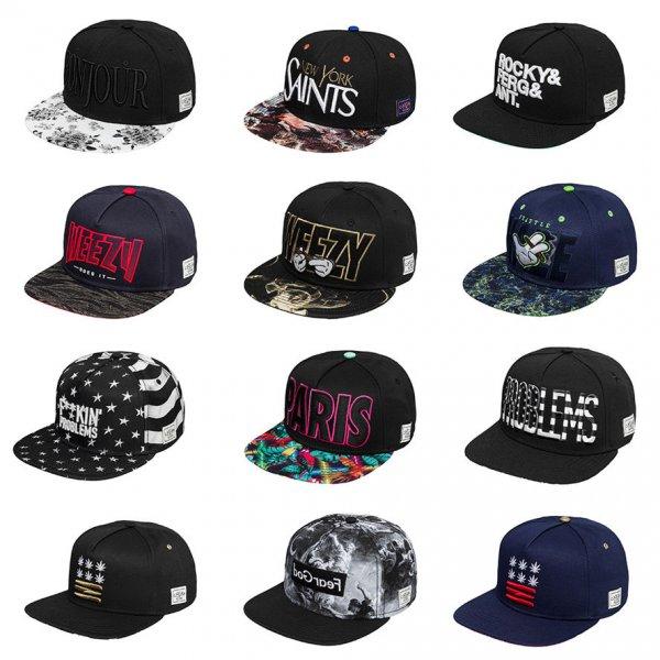 Cayler & Sons Snapback Caps in vielen Farben zum Top Preis!