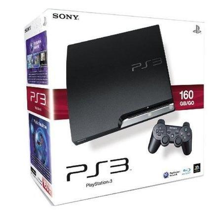PS3 Slim 160GB (Refurbished) inkl. 18 Monate Garantie für 98,91 € bei Groupon