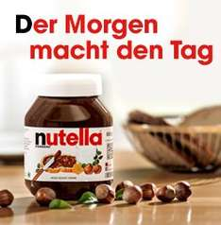(Penny)Nutella 825g (1 Kg = 3,21€) für 2,65€