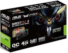 (eBay) Asus STRIX GTX980 DC2OC-4GD5 (4096MB) 373,99,- bei MM