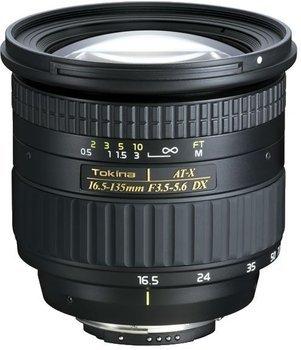 (Schweiz) Objektiv Tokina AT-X 16.5-135mm F/3.5-5.6 DX für Nikon für 98 CHF / Idealo: 459 Euro