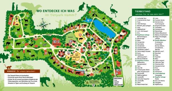 [Lokal Hamm] Tierpark Hamm: Kostenloser Eintritt bis 11 Uhr, für Kinder ganztägig am Samstag, 19.3.16