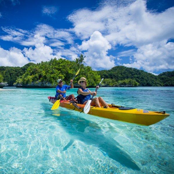 [August - September] Hin- und Rückflüge von Frankfurt nach Palau im Pazifischen Ozean für 632€