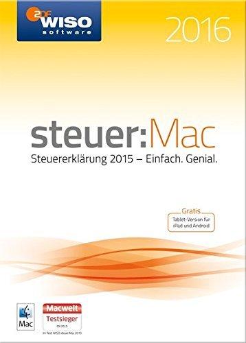 Wieder da Günstiger ! Amazon WISO steuer:Mac 2016 (für Steuerjahr 2015)