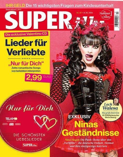 """20 Ausgaben """"SUPERillu"""" mit DVD für eff. 2,50€"""