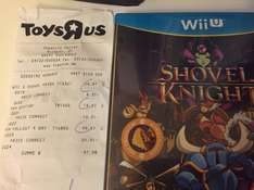 [Lokal Toysrus Chemnitz Center] Shovel Knight WiiU für 8,66€