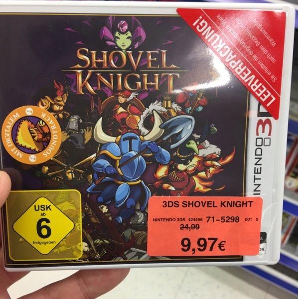 Shovel Knight für Nintendo 3Ds bei Toys R Us Guntersdorf