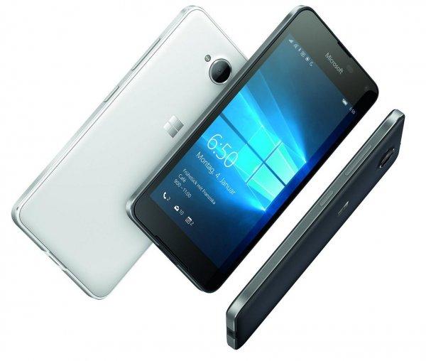 [Conrad, Amazon und Comtech] Microsoft Lumia 650 mit Windows 10 und Alurahmen für 199€ bzw. 189,05€ mit Qipu