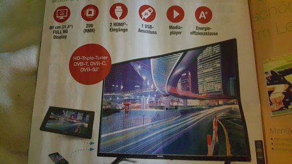 Aldi Nord, Medion LED Fernseher, 80cm