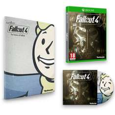 [Amazon.co.uk] Fallout 4 - inkl. Franchise Book und Soundtrack (Xbox One) für 25,78€ *** Fallout 4 Exclusive Edition (PC) für 25,90€