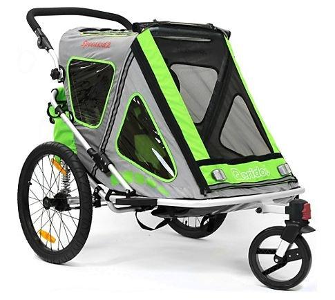 (Plus.de) Qeridoo Speedkid2 Kinder Fahrrad Anhänger