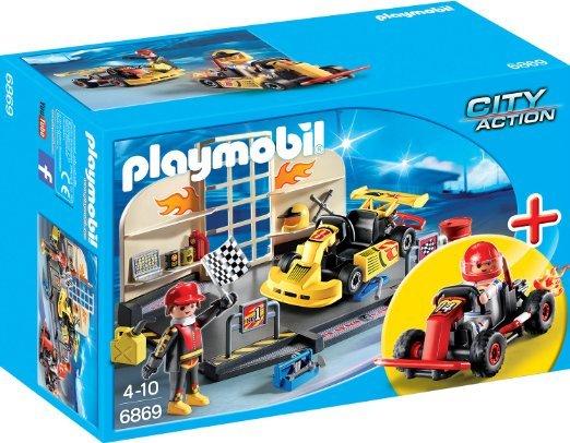 Amazon Plusprodukte: Playmobil Startersets Gokart 6869 (7,43 EUR) & Obsternte 6870 (7,25 EUR), Agentenlabor 5086 (3,01 EUR)